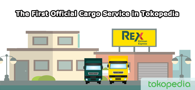 The First Official Cargo Service In Tokopedia
